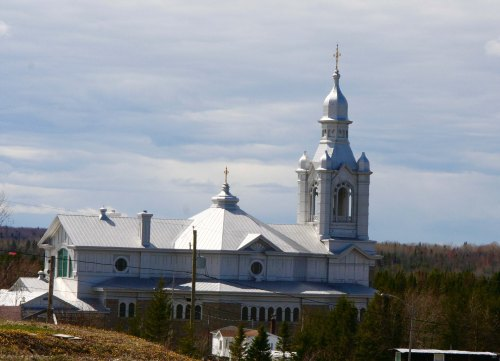 catholic-church along St. Lawrence River