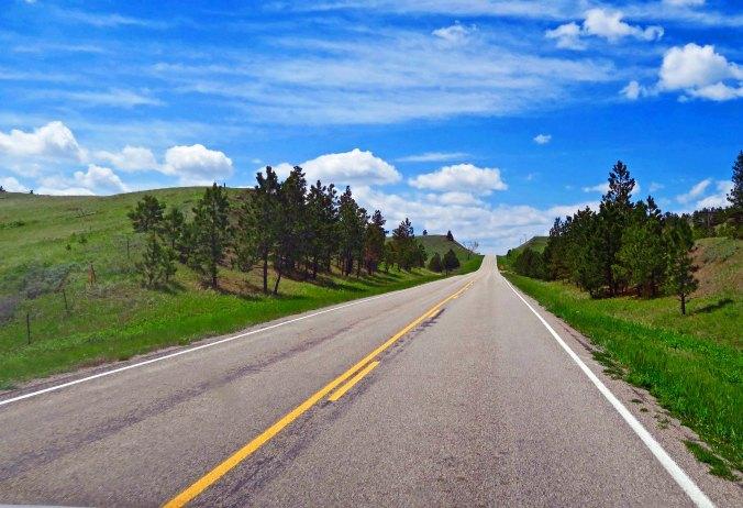 US Highway 191 in Montana