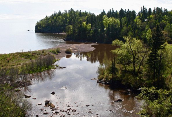 This beautiful cove is found along Minnesota's scenic Highway 61 on the north coast of Lake Superior.