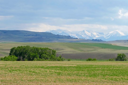 Rocky Mountains in Montana.