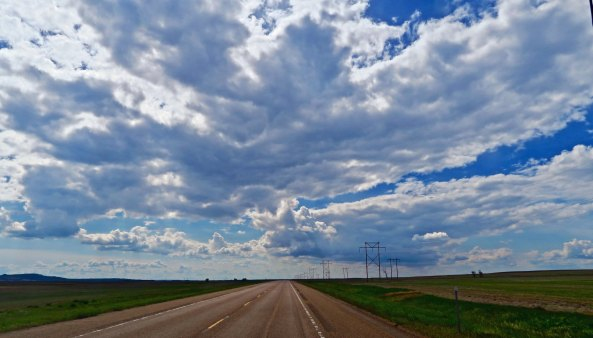 Another perspective on Big Sky Country. This one along US Highway 2 as it makes its way through northern Montana.