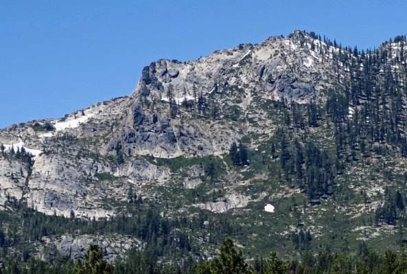 The Sierra's are world renown for their granite. This view is from the southern portion of the Tahoe basin just before you begin to climb out of it toward Echo Summit.