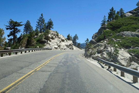 Because of my laundry days, I knew every curve (and straight-stretch) between Lake Tahoe and Placerville!