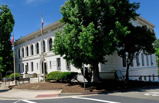Speaking of evil-doers, you might want to check here to find out why the Placerville Police of Chief was driving me around in his squad car behind the courthouse featured here and wanted to know whether I preferred to go to my graduation from high school that night or go to jail.
