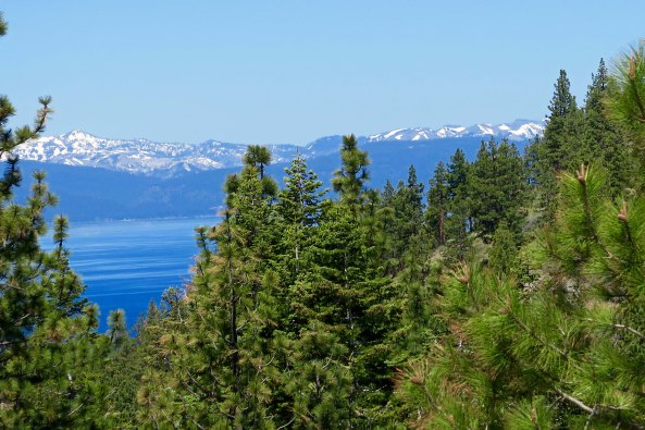 When I arrived at Lake Tahoe, I returned to what I considered my home territory. Half of the beauty of the area is found in the Lake, the other half is in the surrounding backdrop of the Sierra Nevada Mountain Range.
