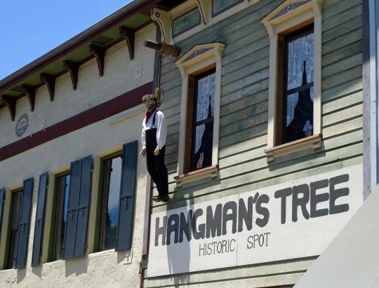 Hangman's Tree location in Placerville, CA.