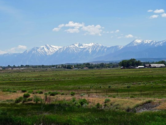 As I entered the Carson Valley, the Sierra Nevada Mountain Range loomed up before me. I was approaching the end of my journey. I was approaching home.