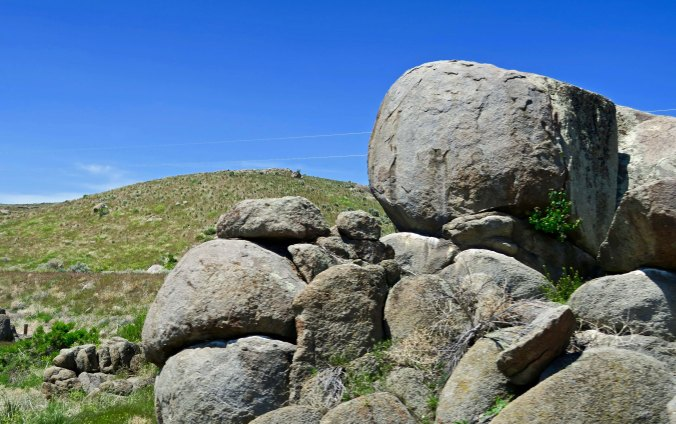 Rocks are one thing that prophets find in abundance when they head off into the desert. They are great for caves; the ideal home for self-sacrificing god-seekers.