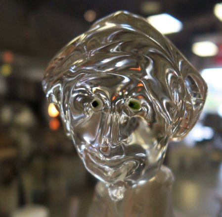 Glass Genie created at the Glass Forge in Grants Pass, Oregon.