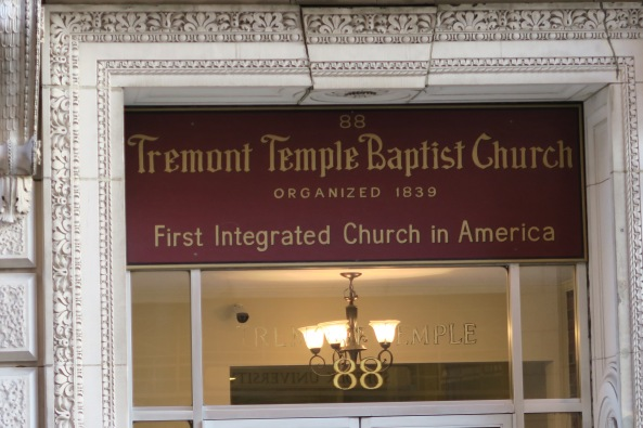Tremont Baptist Church was the first integrated church in America.