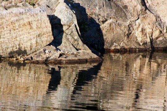 Fun lakes and interesting reflections...