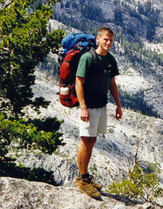 And our son, Tony. When he graduated from Annapolis, I promised to take him on a 100 mile trip including climbing Mt. Whitney. He jumped at the opportunity.