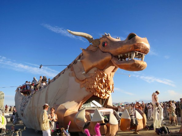 Abraxas the mutant Vehicle at Burning Man.