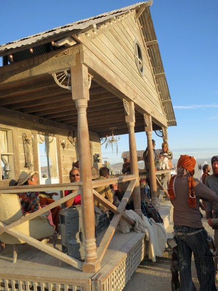 Burning Man's traveling bar.