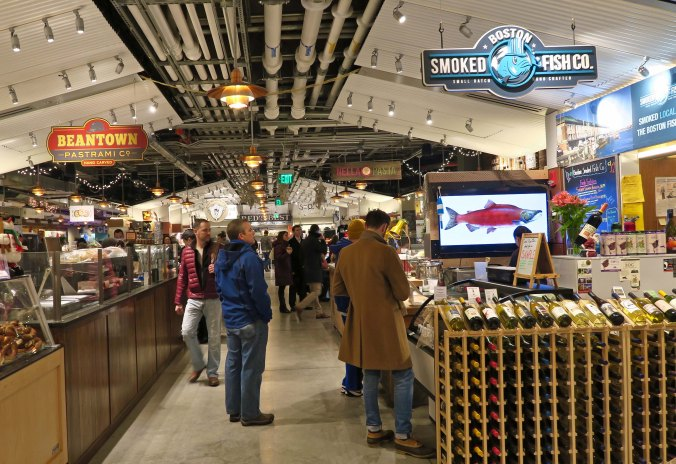 The Boston Public Market was just a few blocks away from the Quincy Market.