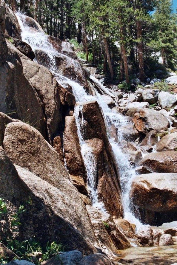 I enjoyed this cascading falls...