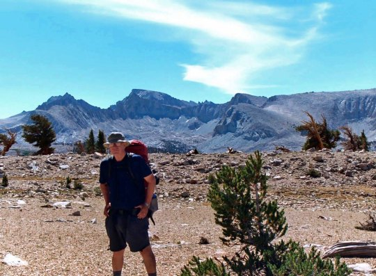 I did a 360 mile trip down the Sierras to celebrate my 60th birthday. Mt. Whitney is in the Background.