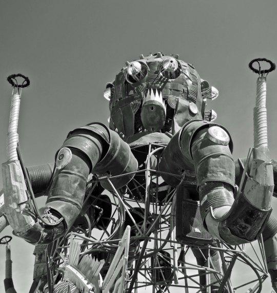 Burning Man's El Pulpo Mechanico.
