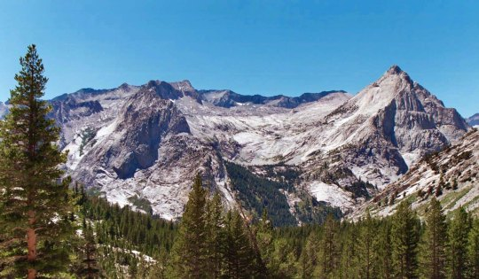 The clearest way into the Universe is through a forest wilderness.(Treks down and across the Sierras are tough for everyone, but especially so for people without experience. It always seems that there are more mountains to climb and more canyons to drop into.)
