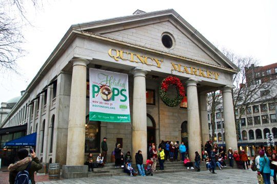 Built in the early 1800s, Quincy Market is now crammed full of market-stall type restaurants filled with tempting goodies.