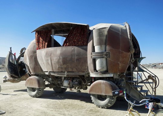 Rhino Redemption at Burning Man.