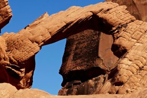 Arch Rock photograph by Curtis Mekemson in Valley of Fire State Park, Nevada.