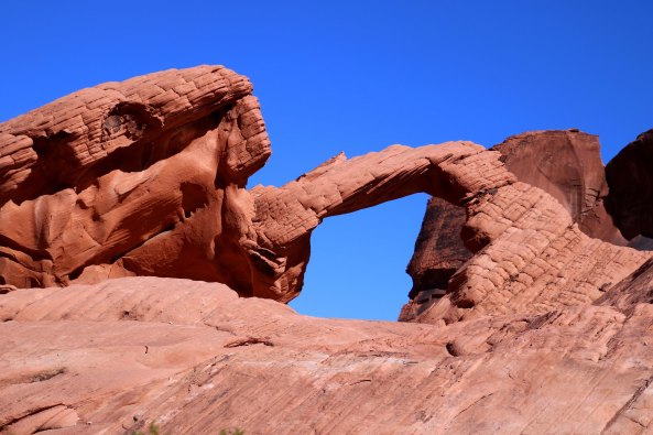 Arch Rock at Valley of Fire State Park in southern Nevada.
