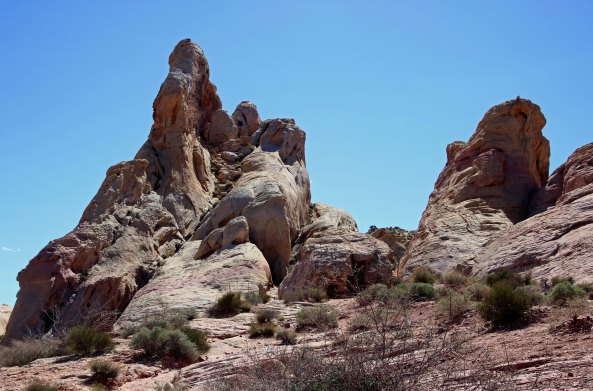 White Domes at Valley of Fire State Park in Southern Nevada.