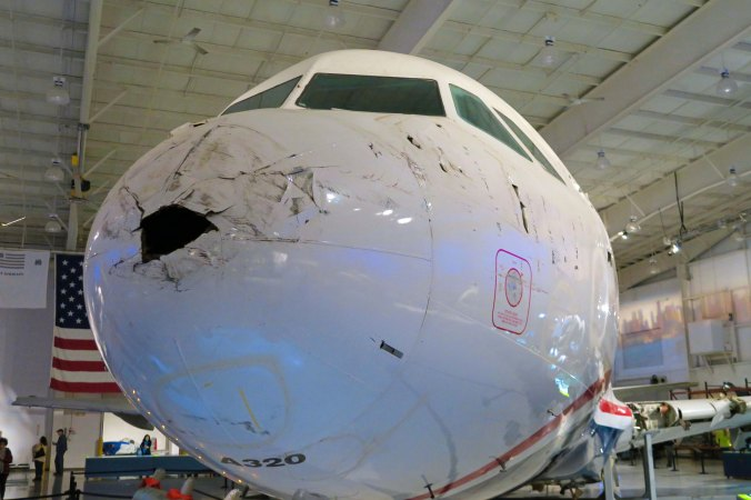 Flight 1549 Airbus 320 that landed on Hudson River.