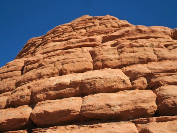 Beehive stone sculpture at Valley of Fire State Park near Las Vegas, Nevada.