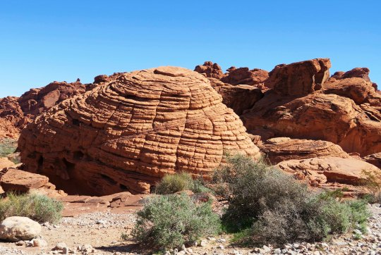 The Beehive at the Valley of Fire State Park in Southern Nevada.