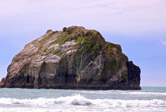 Face Rock near Bandon, Oregon.