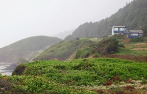 The Ocean Haven B&B north of Florence, Oregon.