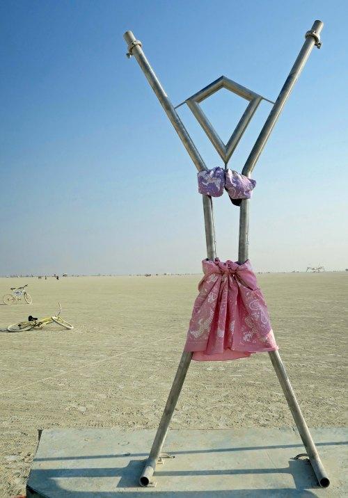 Burning Girl at Burning Man 2017