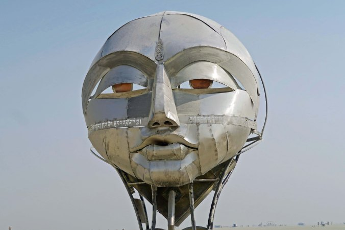 Face of Tonglen at Burning Man 2017