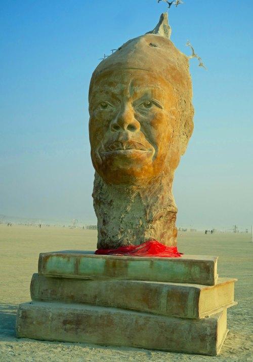 Maya's Mind sculpture at Burning Man 2017