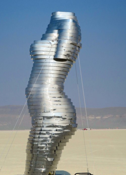 Mirage sculpture at Burning Man 2017
