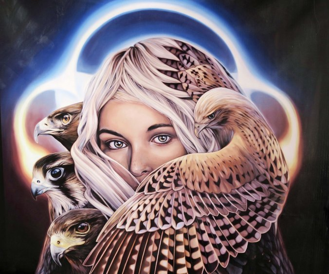 Mystic art 1 from Burning Man 2017