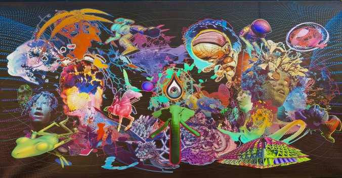 Mystic Camp art 10, Burning Man 2017