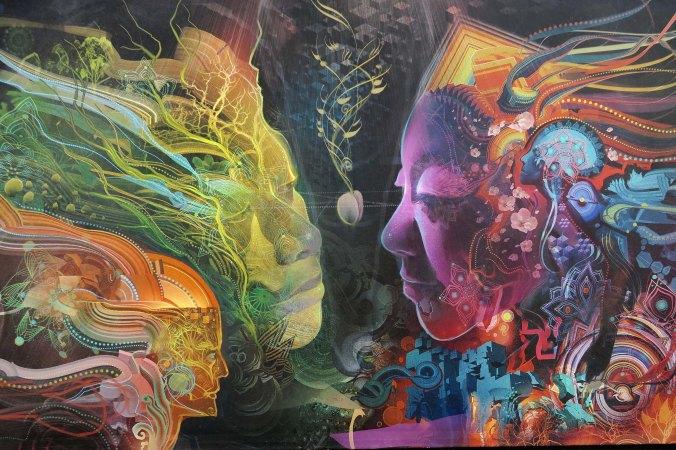 Mystic Camp art 8, Burning Man 2017