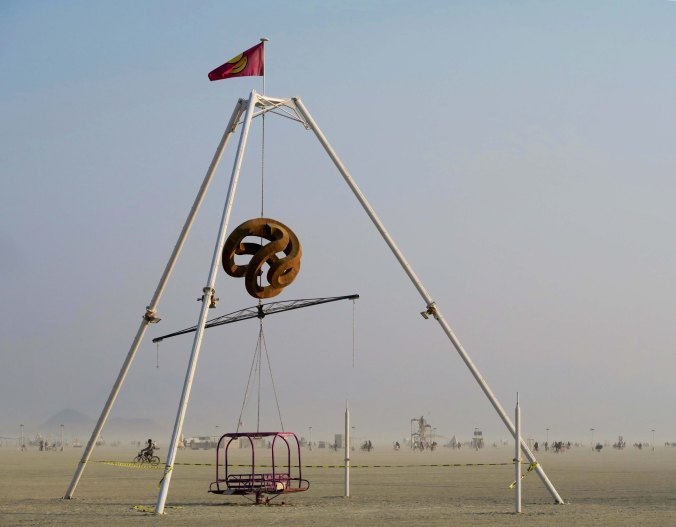 A Wood Turner's Dream at Burning Man 2017