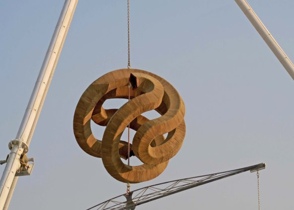 A Wood Turner_s Dream close up at Burning Man 2017