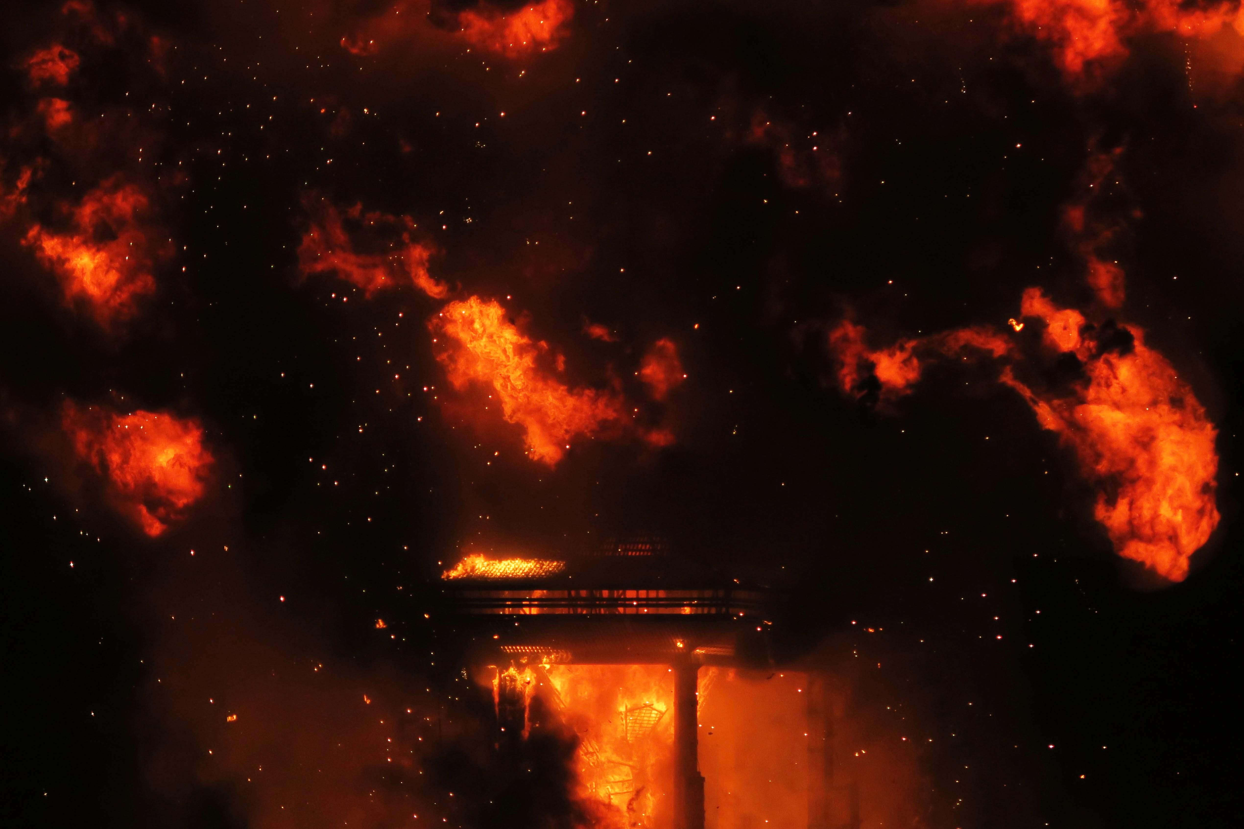 Burn night 2, Burning Man 2017