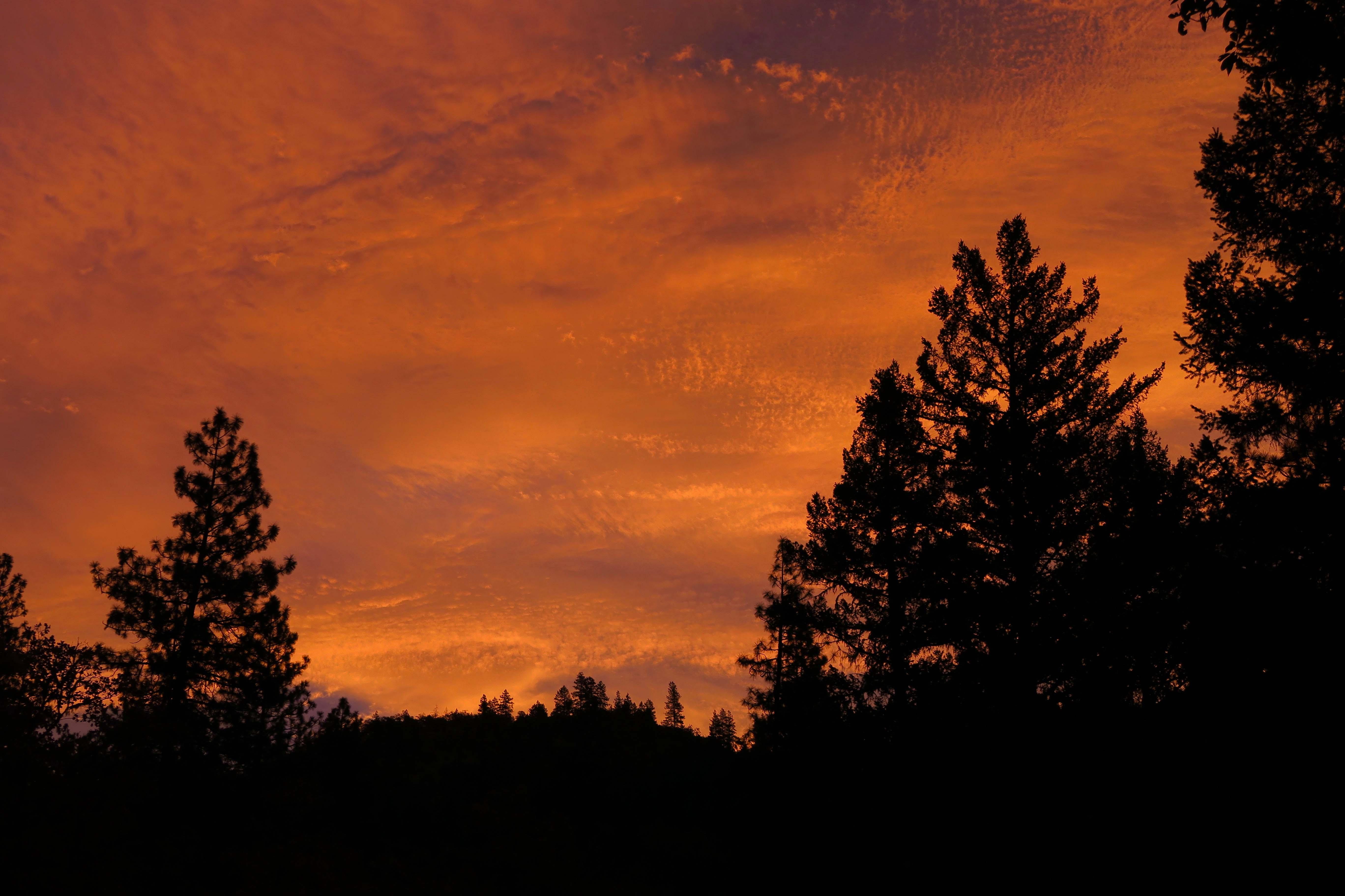 Fall morning, Applegate Valley, Oregon