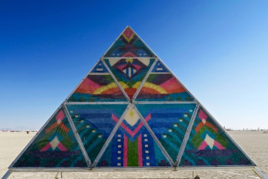 Gummy Bear pyramid at Burning Man 2017