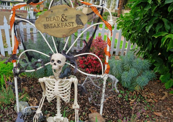 Halloween Bed and Breakfast in Jacksonville, Oregon