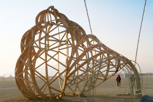 Hurry Up Slowly, Burning Man 2017