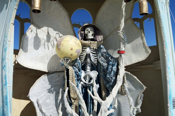 Shrine of La Santisima Muerte at Burning Man 2017