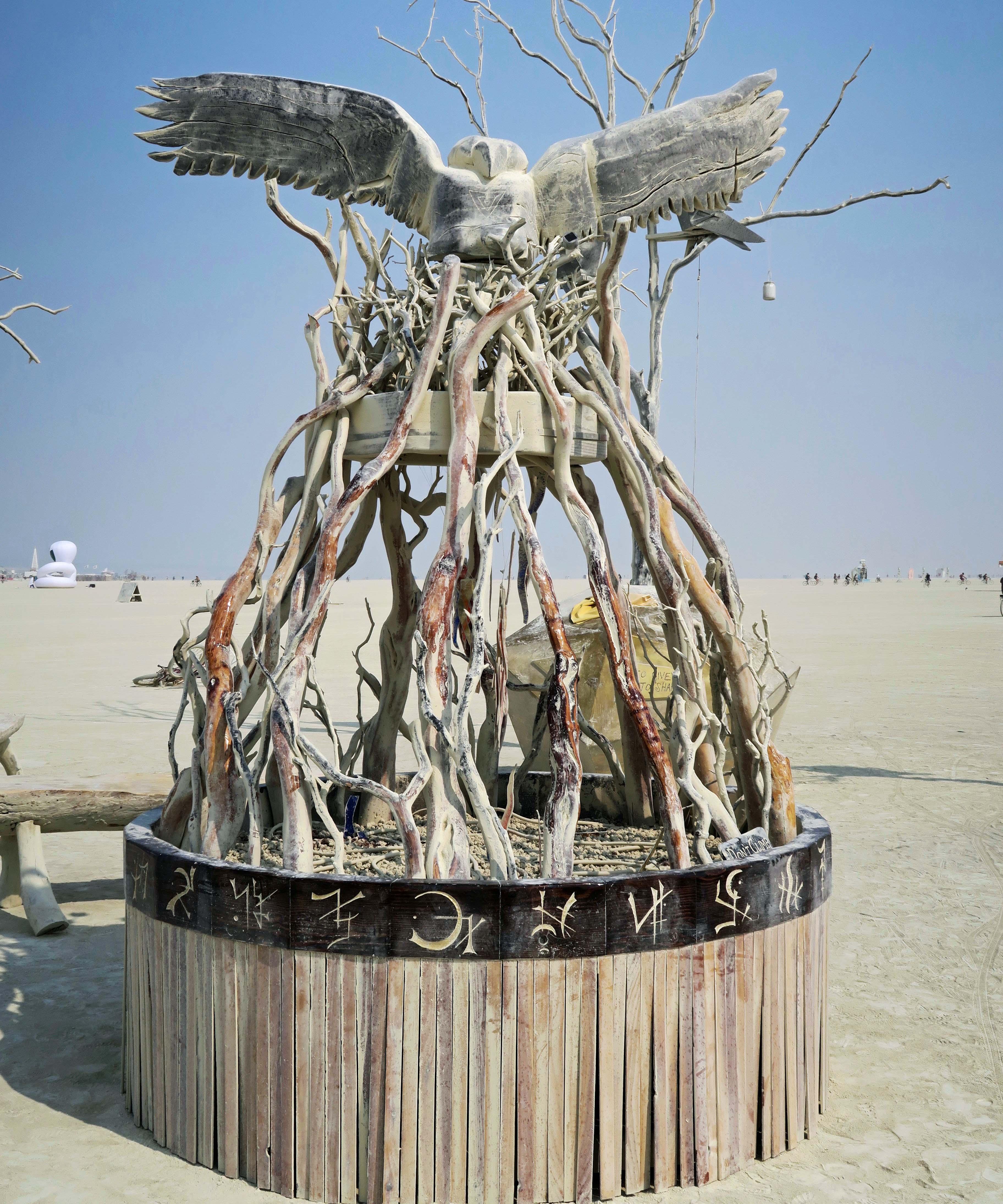 Sysimetsä at Burning Man 2017
