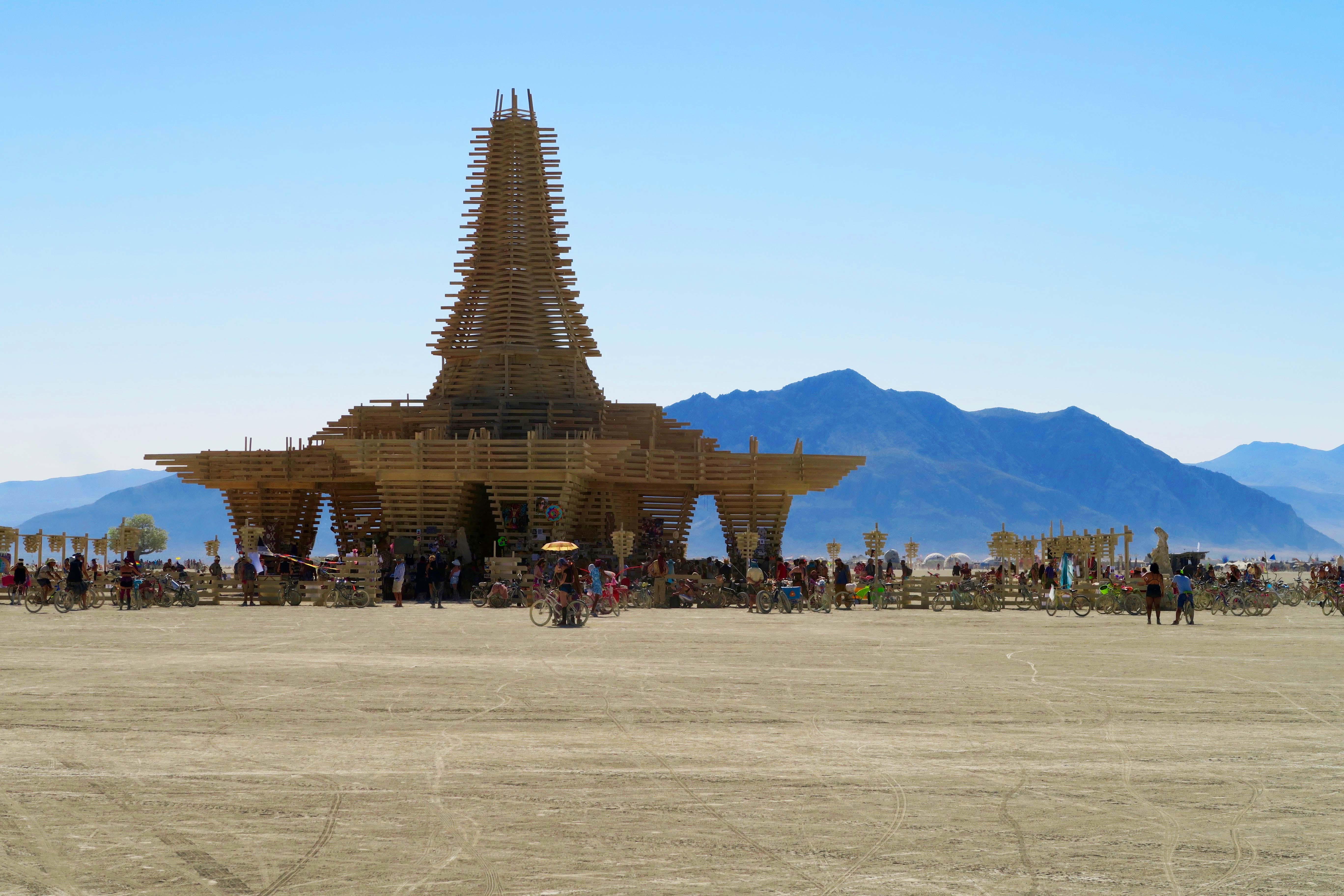 Temple at Burning Man 2017